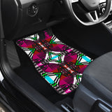 Pretty Pink Front And Back Car Mats (Set Of 4)