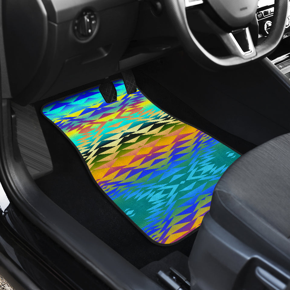 Taos Frost Front And Back Car Mats (Set Of 4)