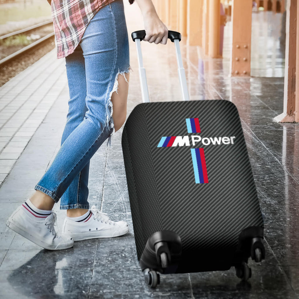 M Power Suitcase Cover