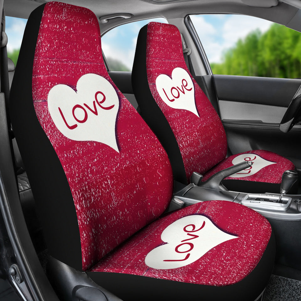 Love Heart Car Seat Covers