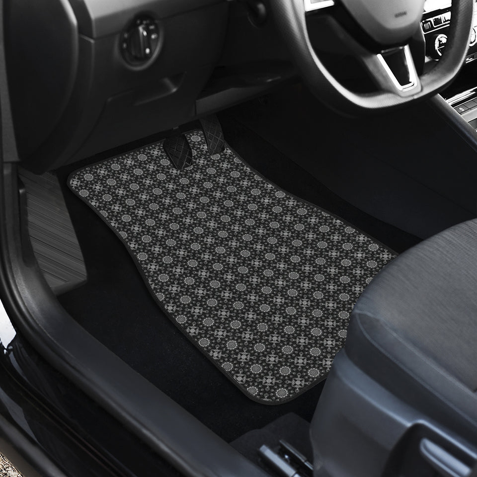 Front And Back Car Mats (Set Of 4) - Kaleidoscope