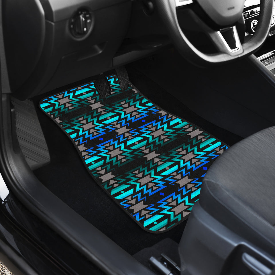 Black Fire Northern Lights Front Car Mats (Set Of 2)