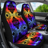 Black Sunset Car Seat Covers
