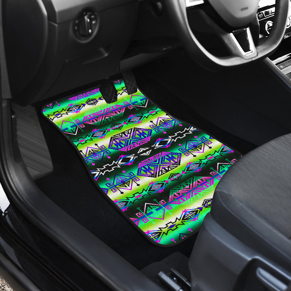 Trade Route South Front Car Mats (Set Of 2)
