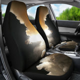 Rocket Launch Car Seat Covers