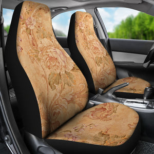 Victorian Flower Car Seat Covers