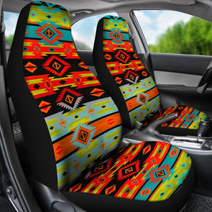 Kiva Psychedelic Car Seat Covers