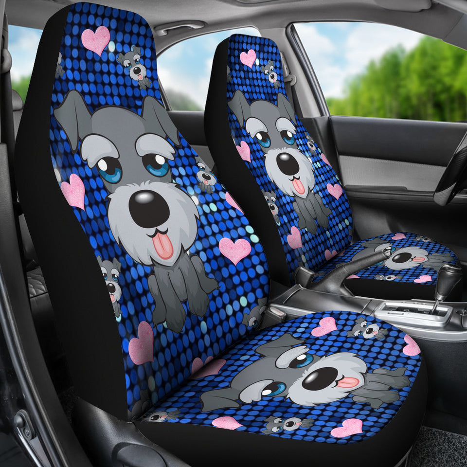 Schnauzer Lovers Car Seat Covers