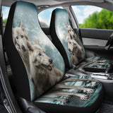 Wolves Car Seat Covers