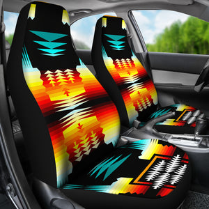 Sage Fire and Turquoise Car Seat Covers