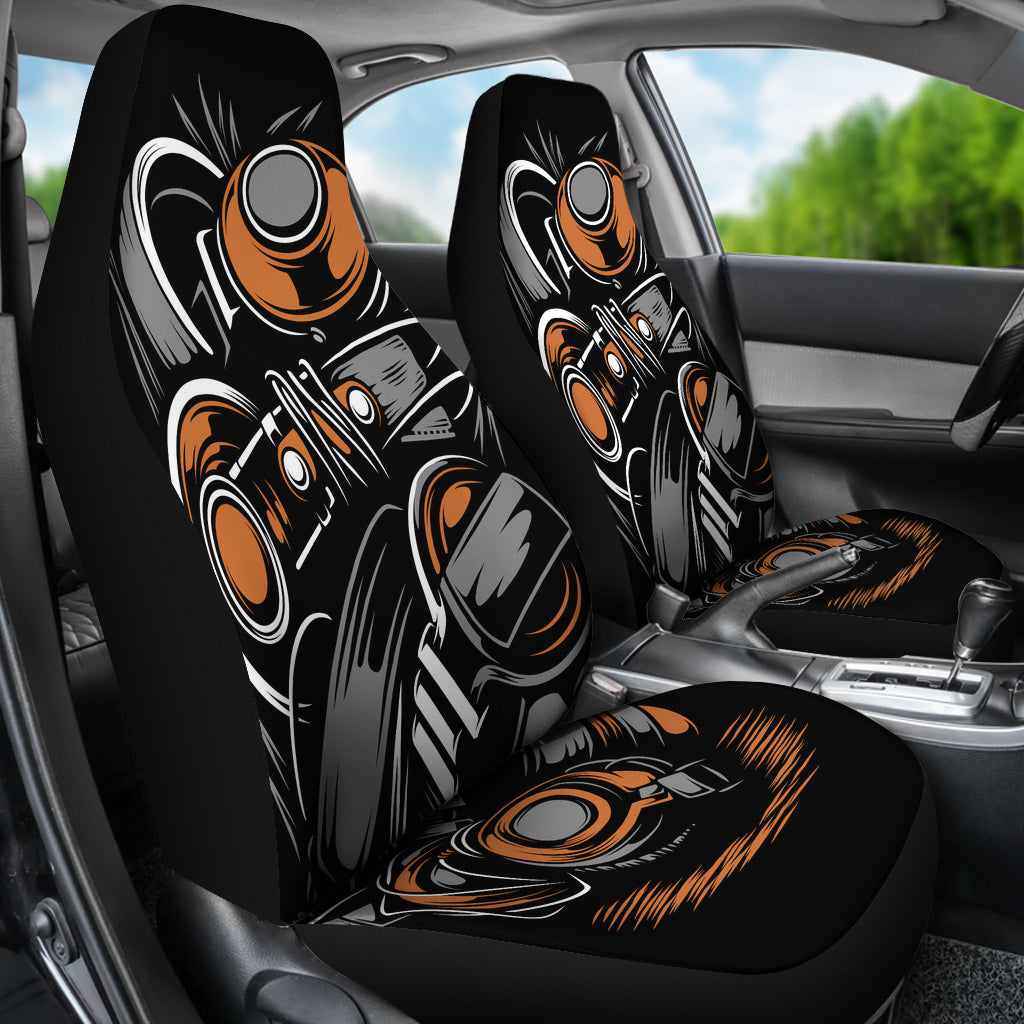 Headphone Beats Car Seat Covers
