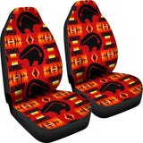 Seven Tribes Red Thunderbear Car Seat Covers
