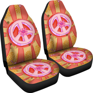 Peace Car Seat Covers