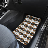 Cofitichequi White Front Car Mats (Set Of 2)