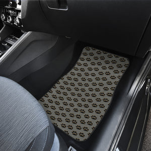 Paws only car floor mat