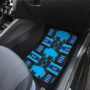 Midnight Lake Buffalo Front Car Mats (Set Of 2)