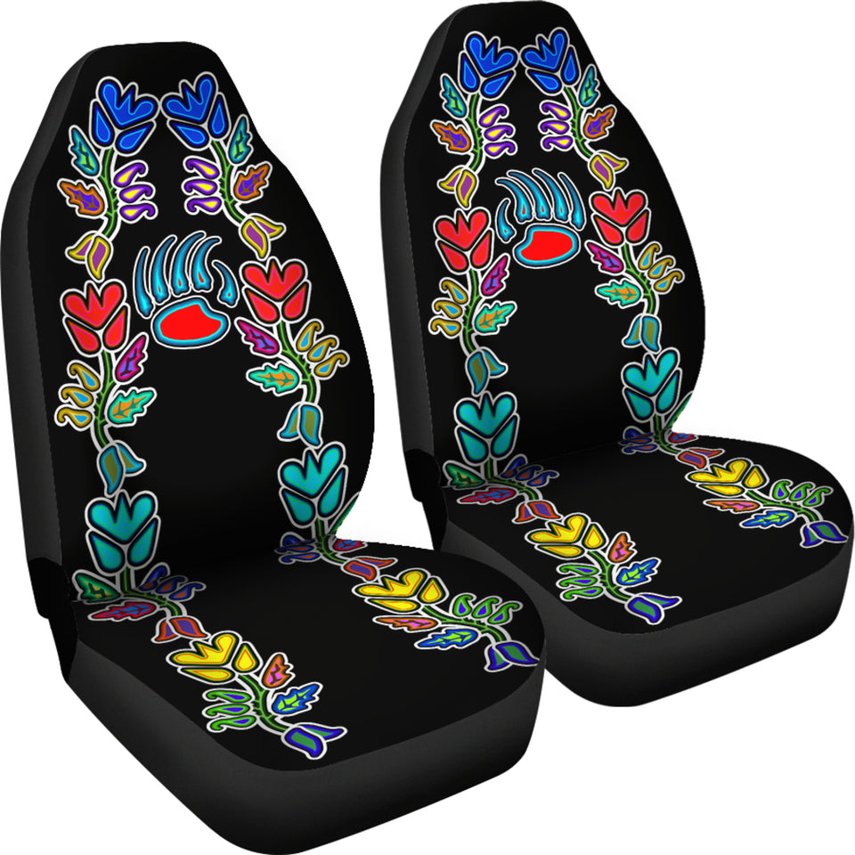 Generations Floral Black with Bearpaw Car Seat Covers