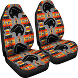 Thunderbear Gray Car Seat Covers