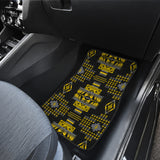 Midnight Ocre Front And Back Car Mats (Set Of 4)