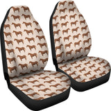 Brown Horse Car Seat Cover