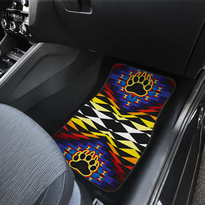 Sunset Bearpaw Front Car Mats (Set Of 2)