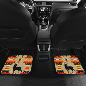 Deer Tan Front And Back Car Mats (Set Of 4)