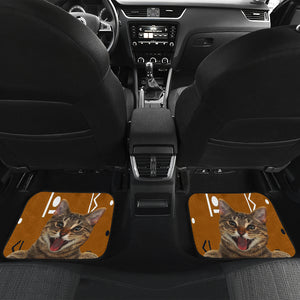 Rock Cat Car Floor Mat