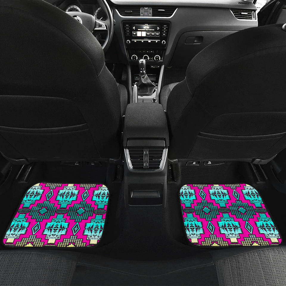 Fancy Daydream Front And Back Car Mats (Set Of 4)