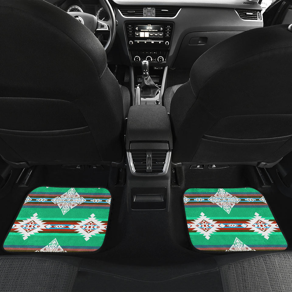 Plateau Stars Front And Back Car Mats (Set Of 4)