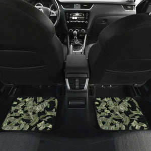 Front And Back Car Mats (Set Of 4) - Money