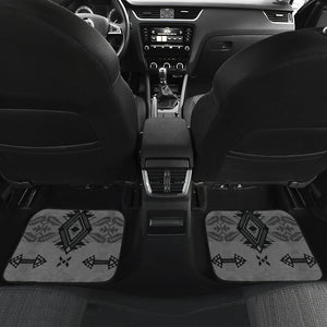 Sovereign Nation Gray Front And Back Car Mats (Set Of 4)