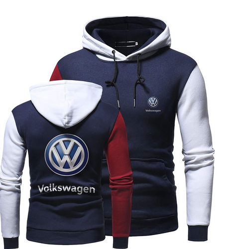 V.W CUSTOM HOODED SWEATSHIRT