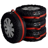 4Pcs Spare Tire Cover Case