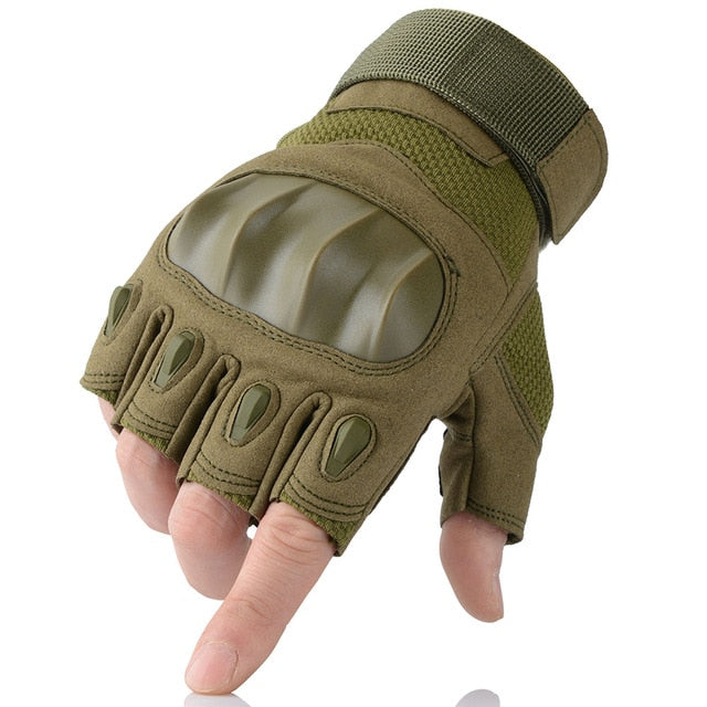Skidproof Leather Gloves