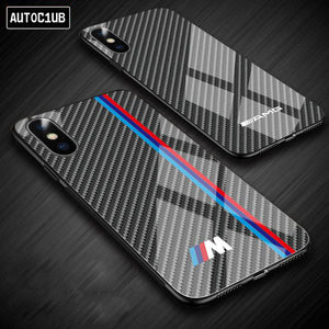 M CARBON FIBER PHONE CASE