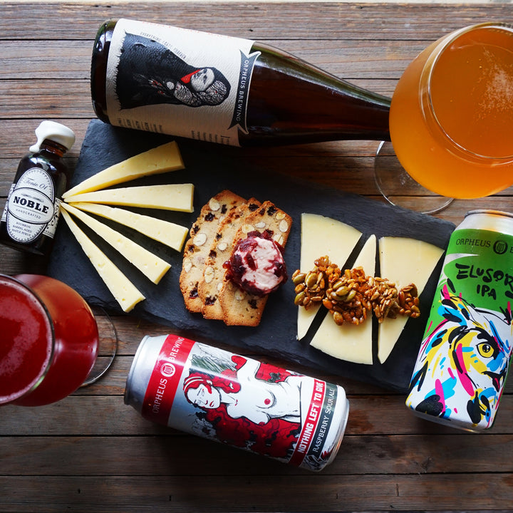April Beer Pairings by @Bakerandthebeerd