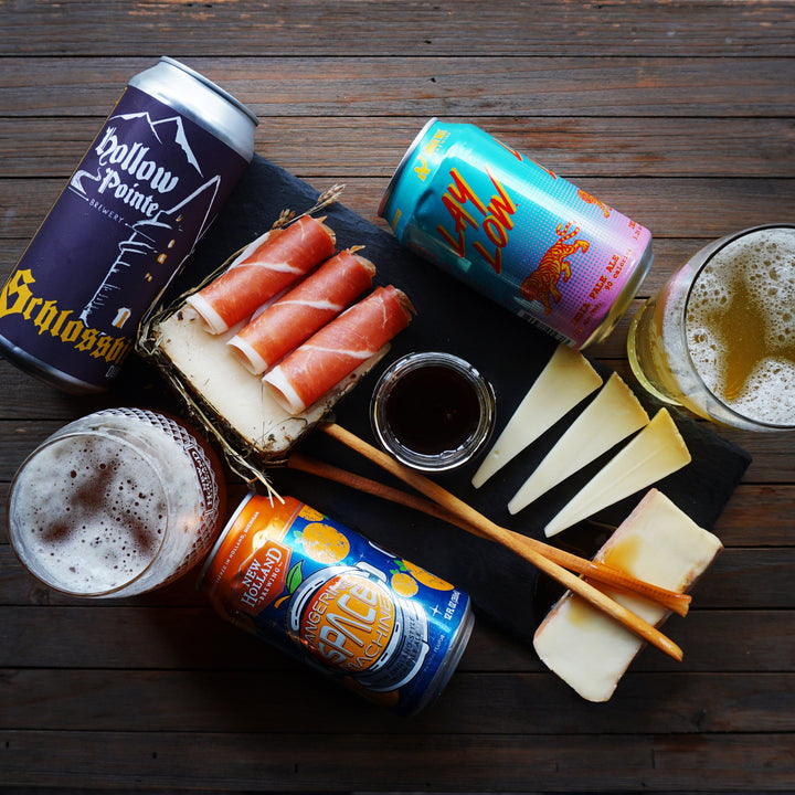 Beer Pairings by @bakerandthebeerd | February 2020 curdbox