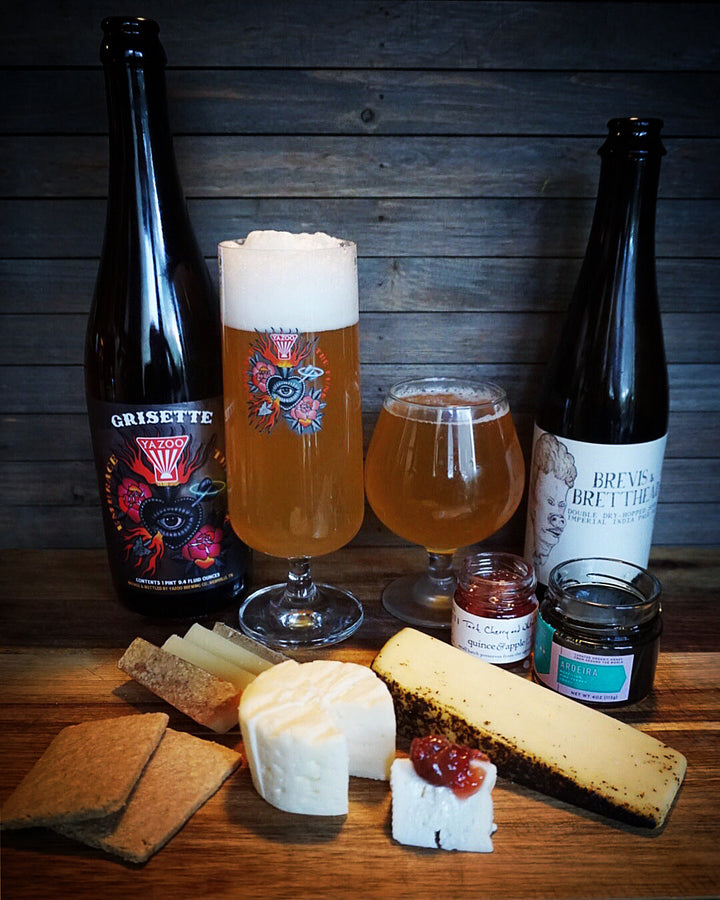 Beer Pairings by @bakerandthebeerd | October 2019 curdbox