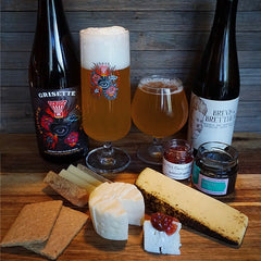 October curdbox with beer pairings