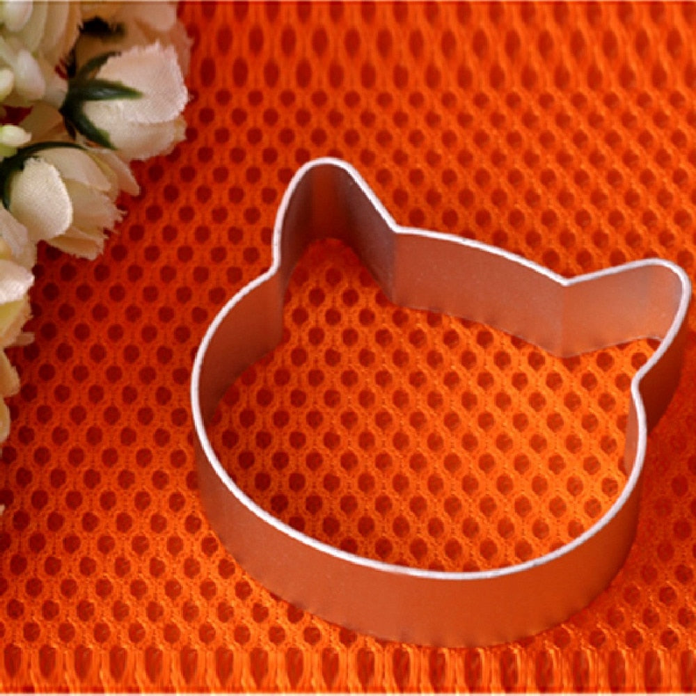 Cat Head Shaped Christmas Kitchen Tools