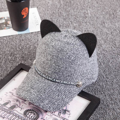 Cute Cat Ear Cap