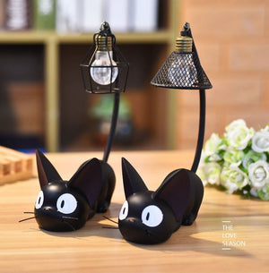 BLACK KITTY NIGHT LIGHT