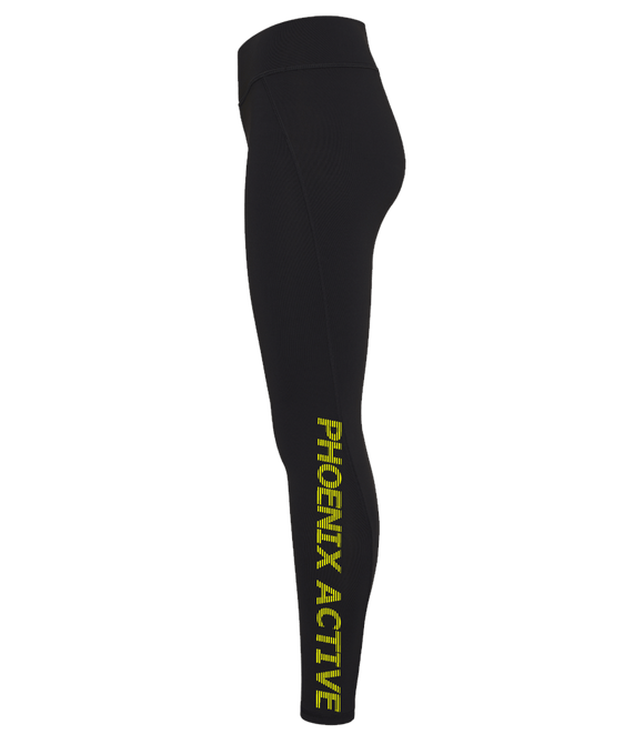 Phoenix Active - Girlie Cool Athletic pants with fluorescent text