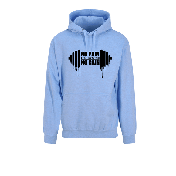 Phoenix Active - Ladies 'No Pain, No Gain' Hoodie