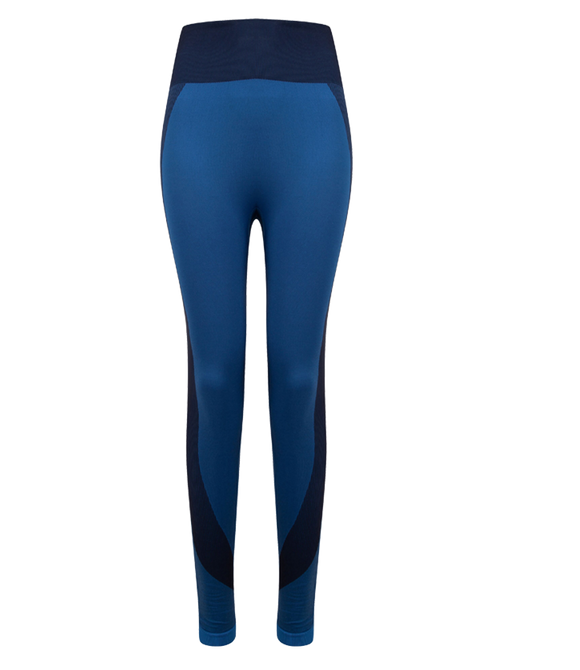 Phoenix Active - Ladies Seamless Panelled Leggings
