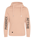 Phoenix Active - Oversized Cross-Neck Hoodie