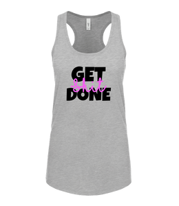 "Phoenix Active - Ladies ""Get Shit Done"" Racer Back Vest"