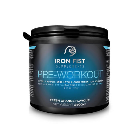 Pre - Workout - ironfistsupplements