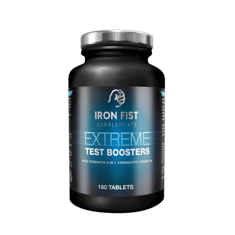 Testosterone Boost Max Capsules - ironfistsupplements