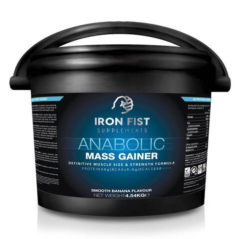 Anabolic mass gainer - ironfistsupplements